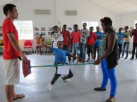 More HIV prevention Activities with GrassRoots Soccer