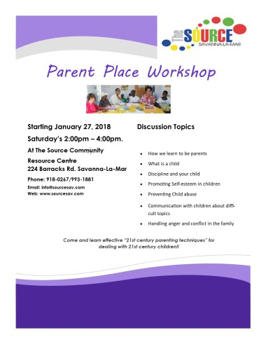 Parent Place Flyer